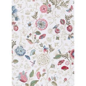 PIPSTUDIO4  375000 輸入壁紙 花 鳥 動物 昆虫 カラフル ホワイト 白 DIY 貼ってはがせる オランダ製 10m巻|decoall