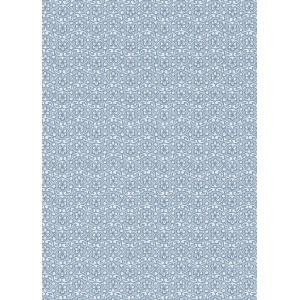 PIPSTUDIO4  375052 輸入壁紙 小花柄 ブルー 青  DIY 貼ってはがせる オランダ製 10m巻|decoall
