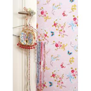 PIPSTUDIO4  375072 輸入壁紙 花 リボン 蝶  ピンク  DIY 貼ってはがせる オランダ製 10m巻|decoall