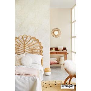 輸入壁紙  FUSION 378003  テシード クジャク パール ホワイト  国内在庫品 クロス はがせる 10m巻 壁紙 |decoall