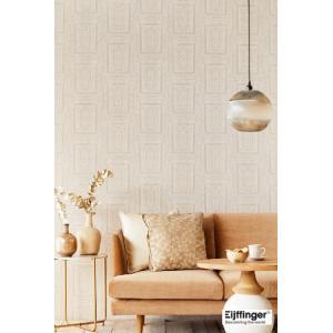 輸入壁紙  FUSION 382520  テシード タイル フェイク ホワイト ライトグレー バロック調  国内在庫品 クロス はがせる 10m巻 壁紙 |decoall