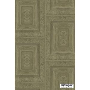 輸入壁紙  FUSION 382521  テシード タイル フェイク モスグリーン バロック調  国内在庫品 クロス はがせる 10m巻 壁紙 |decoall