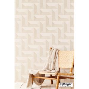 輸入壁紙  FUSION 382570  テシード 幾何学 ベージュ モダン  国内在庫品 クロス はがせる 10m巻 壁紙 |decoall