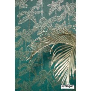 輸入壁紙  FUSION 384513  テシード ヤシの木 グリーン ゴールド トロピカル  国内在庫品 クロス はがせる 10m巻 壁紙 |decoall