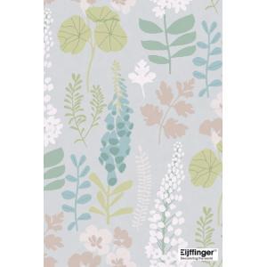 輸入壁紙  FUSION 384530  テシード 花 フラワー ブルーグレー フローラル  国内在庫品 クロス はがせる 10m巻 壁紙 |decoall