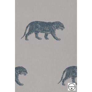 輸入壁紙 TECIDO GRIS GRIS タイガー(トラ)グレー  4400055 decoall