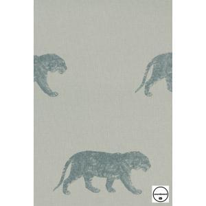 輸入壁紙 TECIDO GRIS GRIS タイガー(トラ)グリーン 4400056|decoall