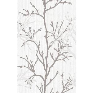 rasch 2020 輸入壁紙 447941 ホワイト グレー ツリー 木 クロス 10m巻 DIY はがせる ドイツ製  国内在庫品|decoall