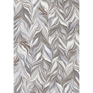 輸入壁紙  ESPOIR NEW AGE  国内在庫 73890102 マーブル模様 茶 白 モダン CASAMANCE テシード DIY |decoall