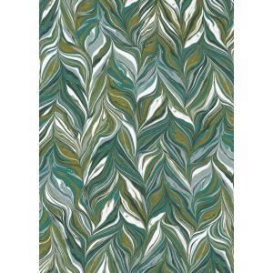 輸入壁紙  ESPOIR NEW AGE  国内在庫 73890510 マーブル模様 緑 モダン CASAMANCE テシード DIY |decoall
