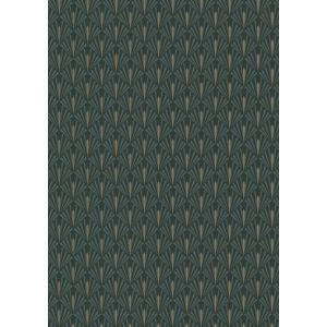 輸入壁紙  ESPOIR NEW AGE  国内在庫 73920436 緑 松の葉柄 和モダン CASAMANCE テシード DIY |decoall