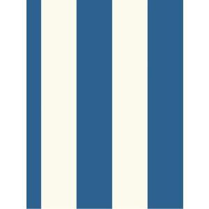 輸入壁紙 ストライプ・ボーダーブルー ASHFORDTROPICS AT7010|decoall