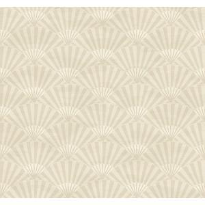 輸入壁紙 シノワズリ Ombre Fans 扇子 CH71601|decoall