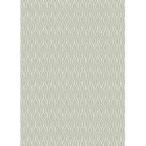 輸入壁紙  ESPOIR NEW AGE  国内在庫 FL6513 グレー 波模様 幾何学 モダン WALLQUEST テシード DIY |decoall