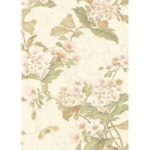 輸入壁紙  ESPOIR NEW AGE  国内在庫 GA6959 白 花柄 和モダン ふすま YORK テシード DIY |decoall