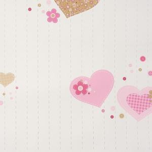輸入壁紙 ハート柄ピンク GIRLS Only(ガールズオンリー) GLN61954127|decoall
