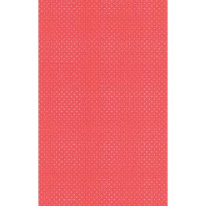 はじめての輸入壁紙DIYセット ドイツrasch(ラッシュ) 赤 ドット柄 水玉 442311 クロス DIY rasch2019 はがせる|decoall