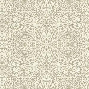 はじめての輸入壁紙DIYセット ドイツrasch(ラッシュ) アラベスク柄 ジオメトリック ゴールド 白 442908 クロス DIY rasch2019 はがせる|decoall