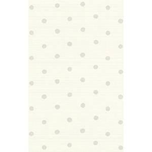 はじめての道具付き輸入壁紙  rasch2019 ラッシュ  ドット 水玉 グレー 国内在庫 613421 クロス 10m DIY はがせる|decoall
