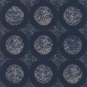 はじめての輸入壁紙DIYセット ドイツrasch(ラッシュ) 幾何学 ろうけつ染め 紺色 藍色 染め 862232 クロス DIY rasch2019 はがせる decoall