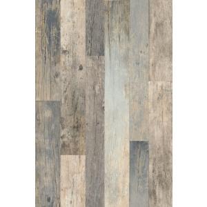 はじめての輸入壁紙DIYセット ドイツrasch(ラッシュ) 木目 板張り 継ぎはぎ ブルーグレー フェイク 941623 クロス DIY rasch2019 はがせる|decoall