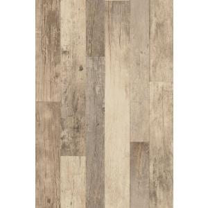 はじめての輸入壁紙DIYセット ドイツrasch(ラッシュ) 木目 板張り 継ぎはぎ 茶 フェイク 941630 クロス DIY rasch2019 はがせる|decoall