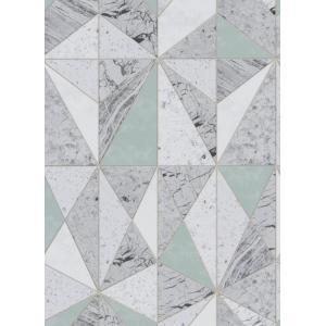 輸入壁紙  ESPOIR NEW AGE  国内在庫 MATE69596006 ブルー グレー 石目調 ストーン SASERIO テシード DIY |decoall