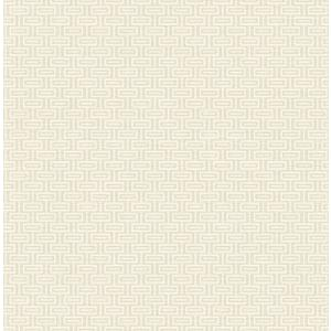 輸入壁紙 TECIDO(テシード) 幾何学柄 Horizontal Bars ベージュ|decoall