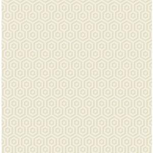 輸入壁紙 TECIDO(テシード) 幾何学柄 ヘキサゴン(Hexagons ) ゴールド|decoall