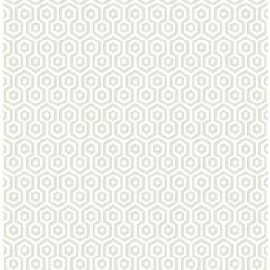 輸入壁紙 TECIDO(テシード) 幾何学柄 ヘキサゴン(Hexagons ) オフホワイト|decoall