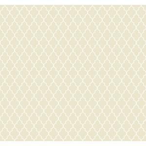 輸入壁紙 TECIDO(テシード) 幾何学柄 Lattice ベージュ|decoall