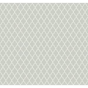 輸入壁紙 TECIDO(テシード) 幾何学柄 Lattice グレー|decoall
