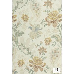 輸入壁紙 アンティーク花柄 TS70202|decoall