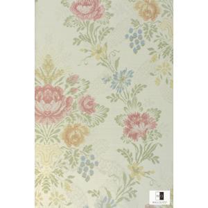 輸入壁紙 アンティーク花柄ベージュ TS70301|decoall