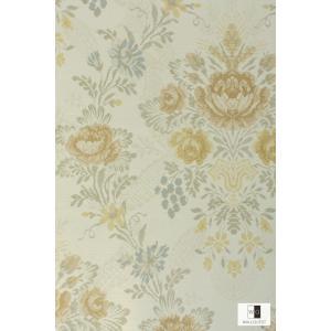 輸入壁紙 アンティーク花柄ベージュ TS70305|decoall