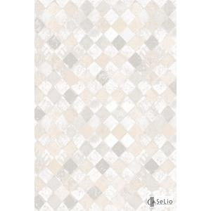 輸入壁紙 TECIDO GRIS GRIS シャビーシックタイル柄グレー VEI65751098|decoall