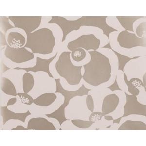 輸入壁紙 VILLA NOVA Makela Mono Wallpaper Lustre 花柄 メタリックベージュ W530/01 クロス DIY 賃貸OK 貼ってはがせる decoall