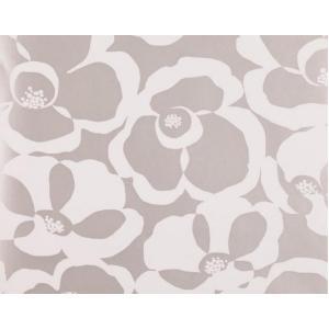輸入壁紙 VILLA NOVA Makela Mono Wallpaper Pumice 花柄 メタリックシルバー W530/02 クロス DIY 賃貸OK 貼ってはがせる decoall