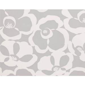 輸入壁紙 VILLA NOVA Makela Mono Wallpaper Cirrus 花柄 グレー W530/04 クロス DIY 賃貸OK 貼ってはがせる decoall
