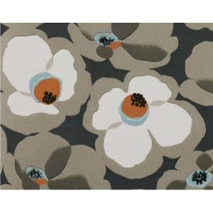 輸入壁紙 VILLA NOVA MAKELAWallpaper Clementine 花柄 ブラウン W532/01 クロス DIY 賃貸OK 貼ってはがせる decoall