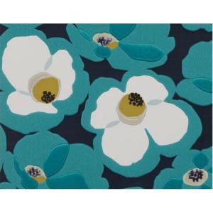 輸入壁紙 VILLA NOVA MAKELAWallpaper Ionian 花柄 ブルー W532/04 クロス DIY 賃貸OK 貼ってはがせる decoall