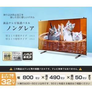 液晶テレビ保護パネル32型(32インチ)ノング...の詳細画像1