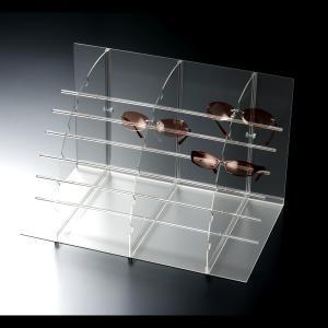 サングラススタンド什器 フレームアシスト18枚掛【メガネスタンド サングラススタンド】|decodecoshop