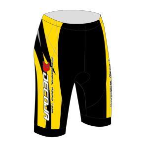 DECOJA サイクルパンツ ガイル 黄色 DSP版(25566)【送料無料】|decoja-sports