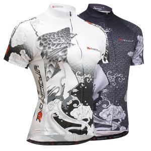 DECOJA 和柄 サイクルジャージ 銀鷲(28147)【送料無料】サイクルウェア 自転車ウェア|decoja-sports