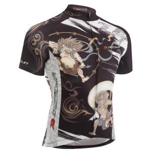 DECOJA サイクルジャージ 半袖 風神雷神(28561)【送料無料】サイクルウェア 自転車ウェア サイクルジャージ|decoja-sports