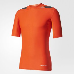 adidas(アディダス) メンズ コンプレッションショートスリーブシャツ TF POWER ショートスリーブ KBC86 クルーネック 五分袖