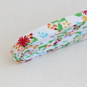 バイアステープ/12mm巾・ふちどり(4ツ折) 43 Baby purine 【2.5m巻】 【メール便対応】|decollections