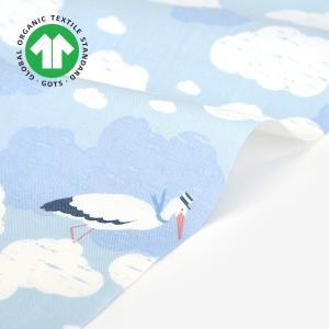 生地・布・入園入学 ≪ stork ≫ コットン/幅110cm 【オリジナル生地】 【10cm単位販売】|decollections