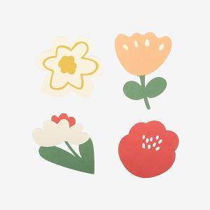 メッセージカード Market Card - 03 Flower shop 【メール便対応】|decollections